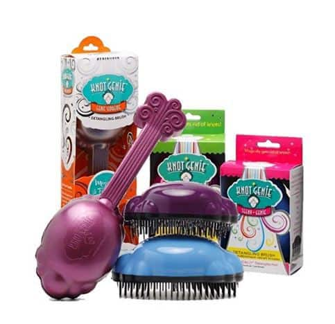 Gift Ideas for 4 Year Old Girls Knot Genie Hair Brush
