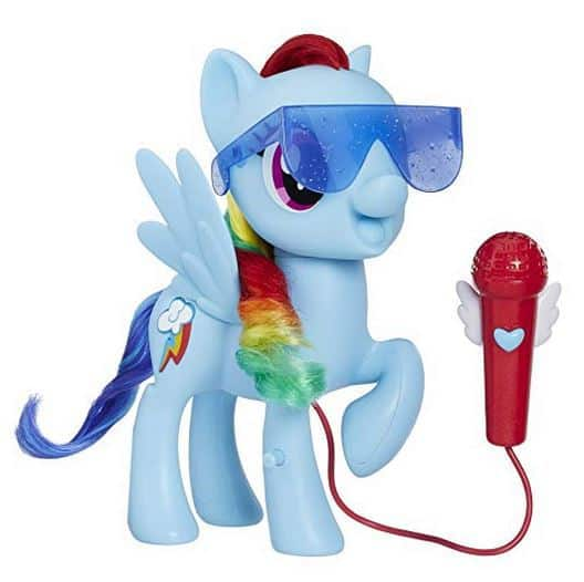 Gift Ideas for 4 Year Old Girls my little pony singing rainbow dash
