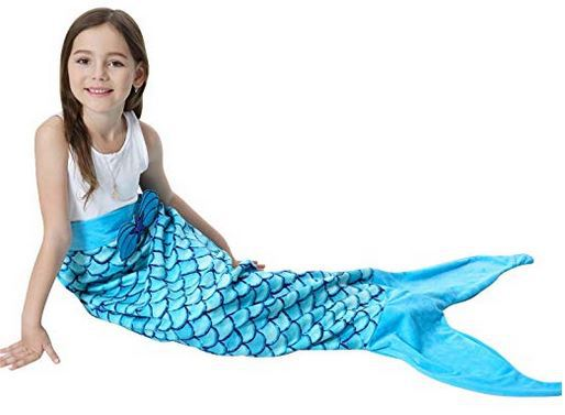 Lego Gift Ideas for 4 Year Old Mermaid Tail blanket