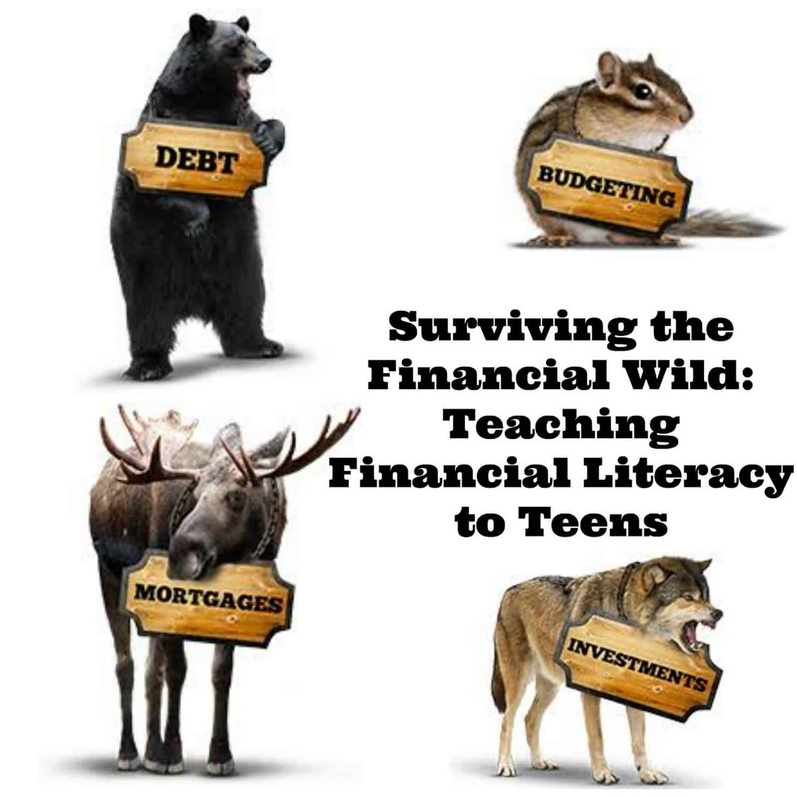Financial Literacy for Teens – Teaching Teens about Money