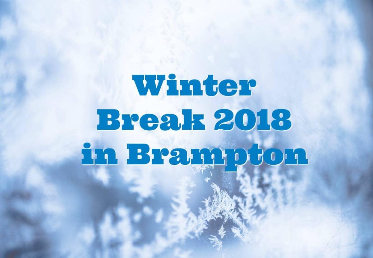 Winter Holiday Fun Activities In Brampton 2018