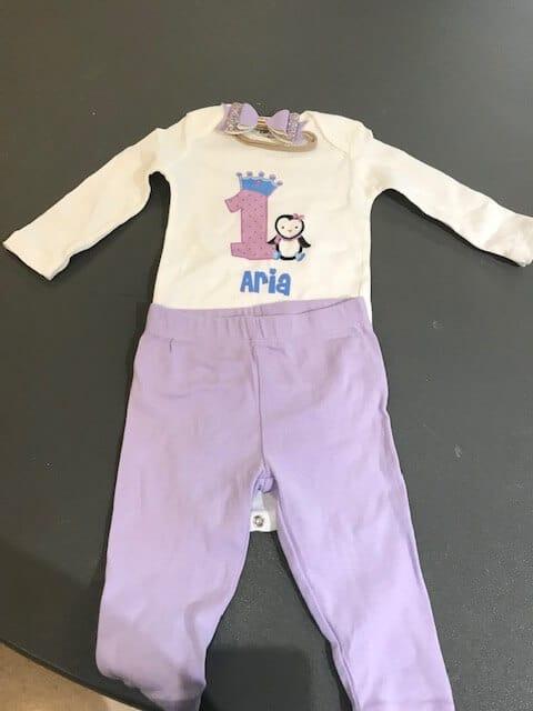 Tiny Posh Bowtique Birthday Outfit