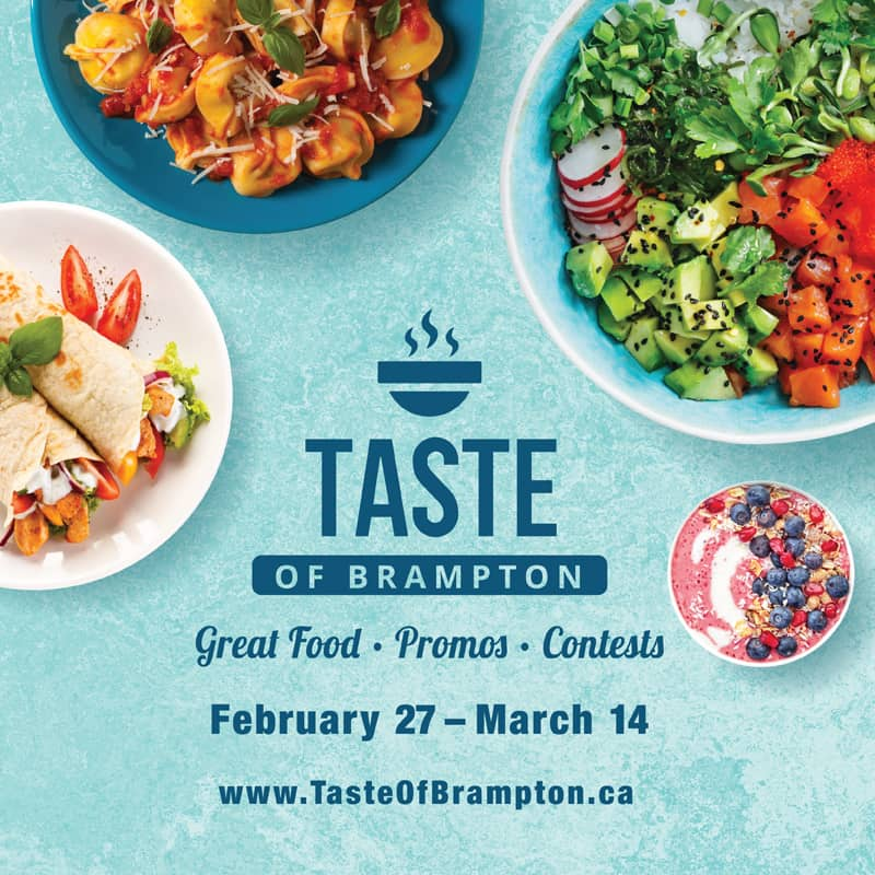 The Ultimate Guide to the Taste of Brampton 2020: Top Restaurants in Brampton