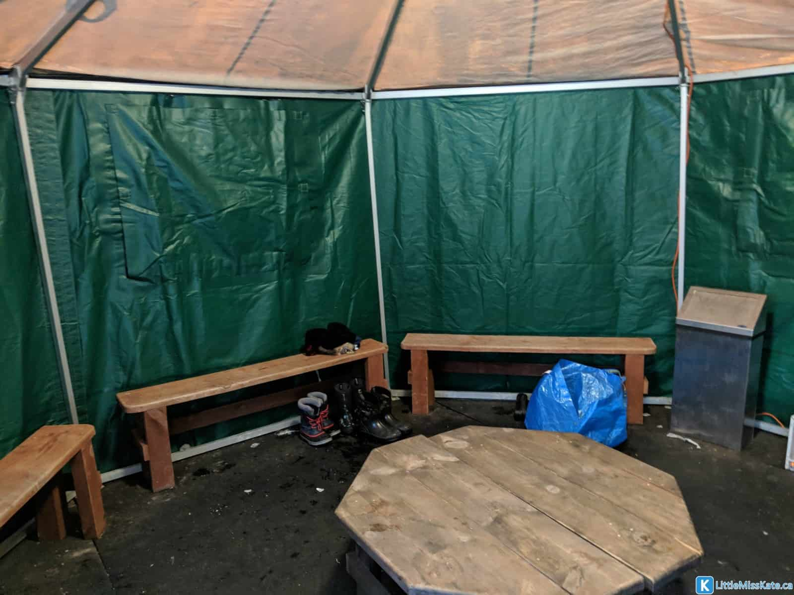MacGregor Point skating outdoor ice skate trail yurt ontario