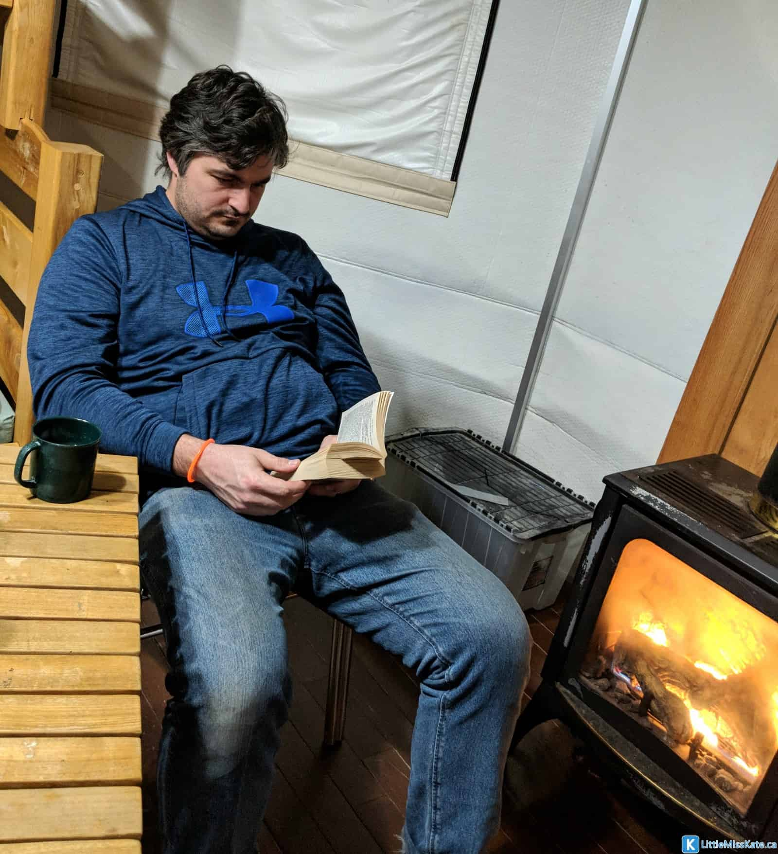 glamping ontario winter camping yurts MacGregor Point