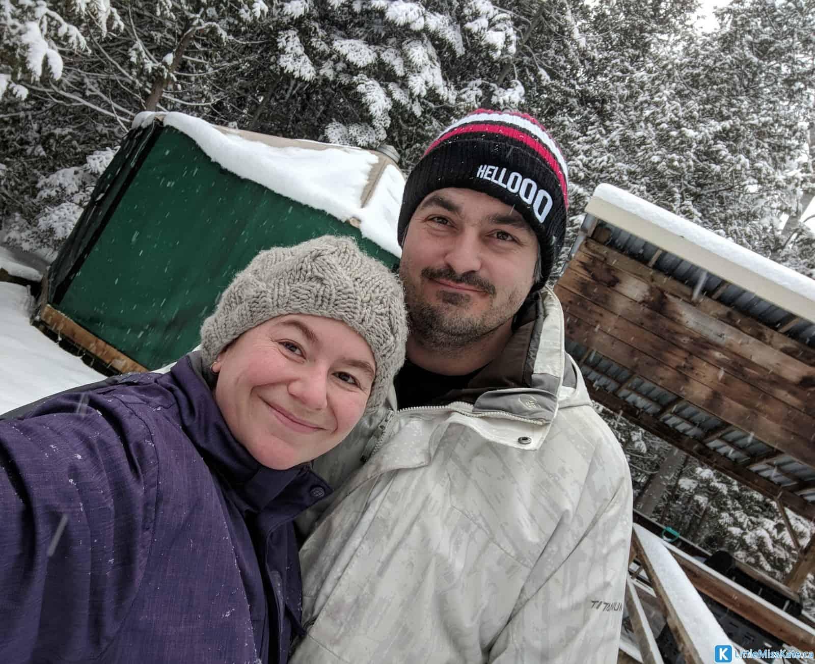 best family camping in Ontario winter camping MacGregor Provincial Park