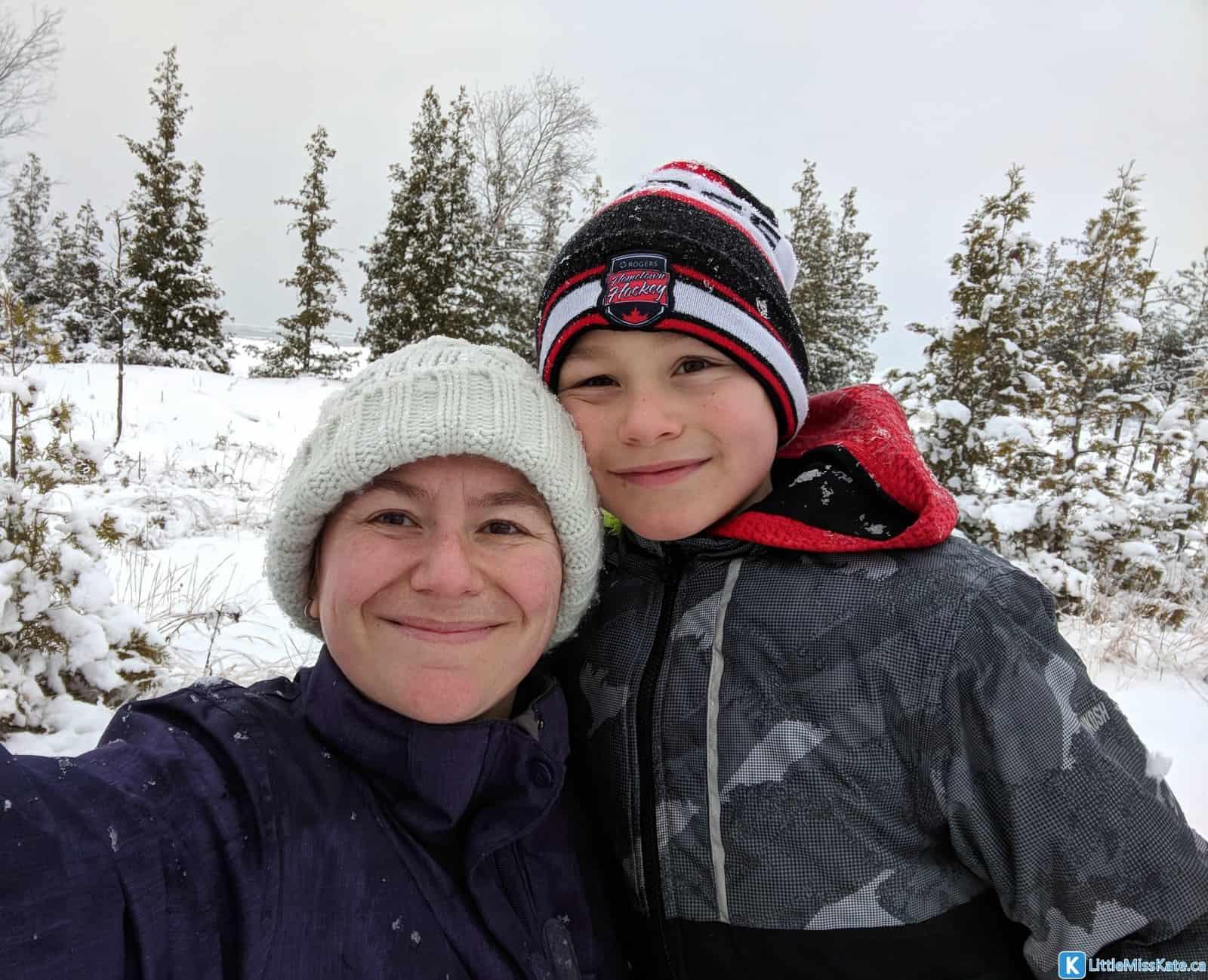 Winter camping in ontario macgregor point provincial park