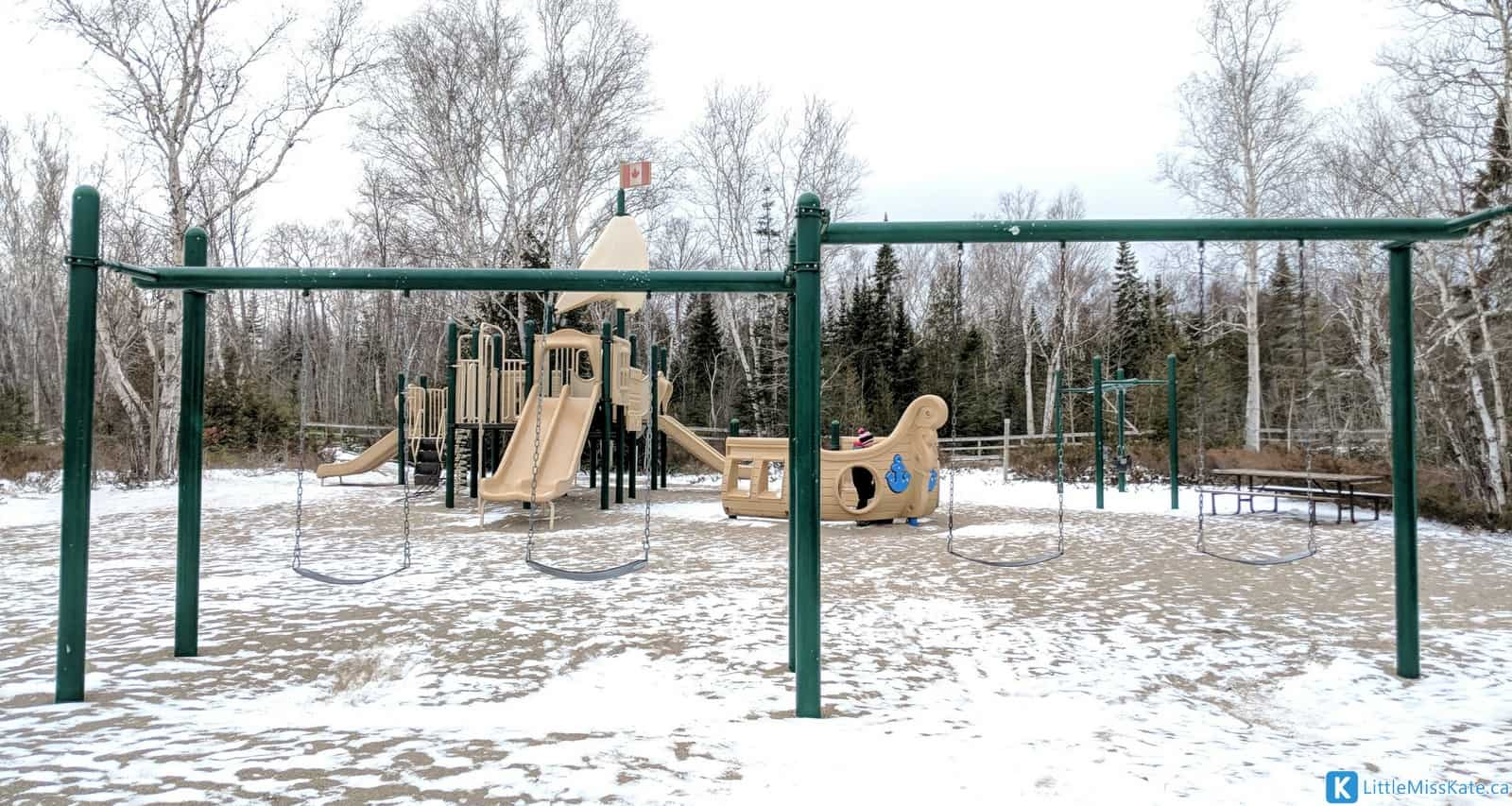 macGregor Point Provinical Park playground