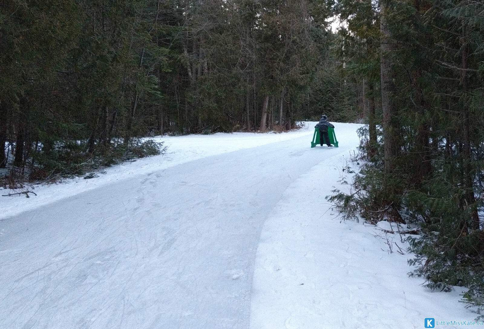 MacGregor Point skating outdoor ice skate trail ontario