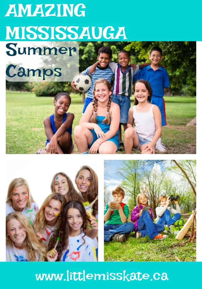 Best sumemr camps in Mississauga - arts camp, sports camp, STEM Camp