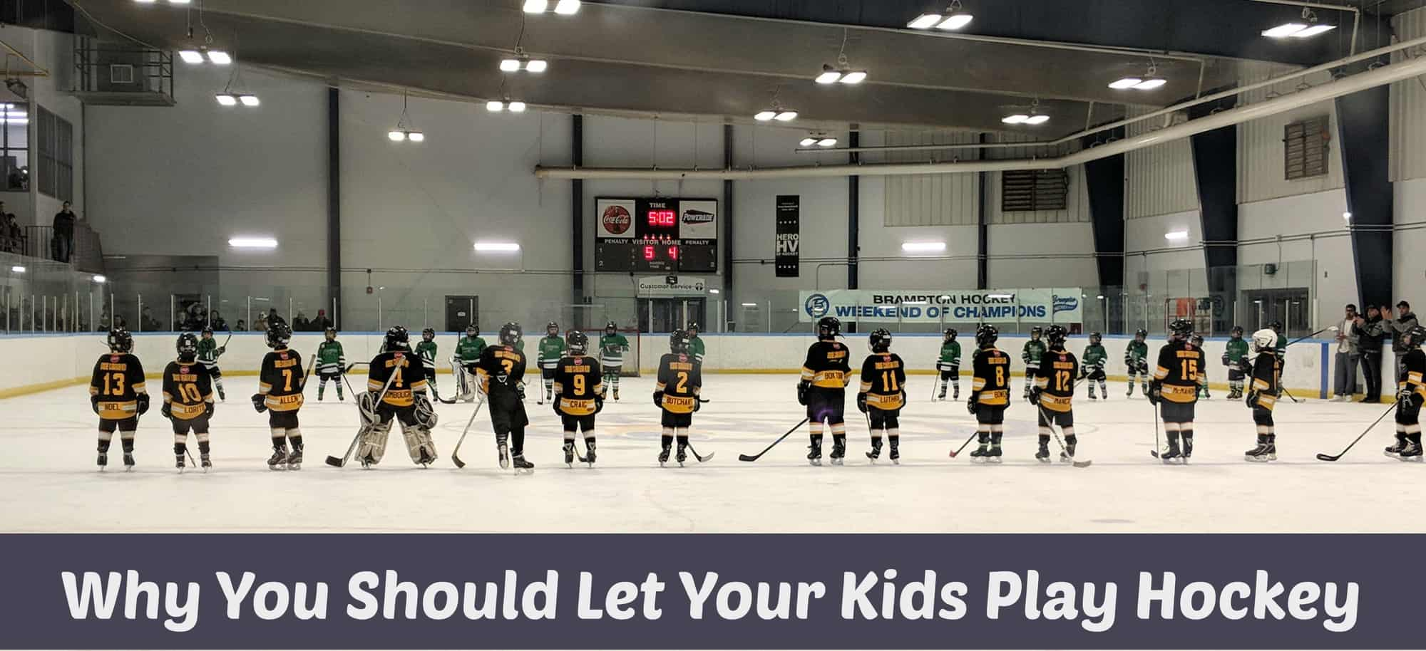 Why You Should Let Your Kids Play Hockey and How To Protect Them On The Ice