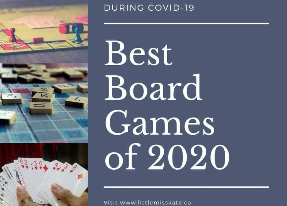 The Best way to Spend Time at Home: The Best Board Games in 2020