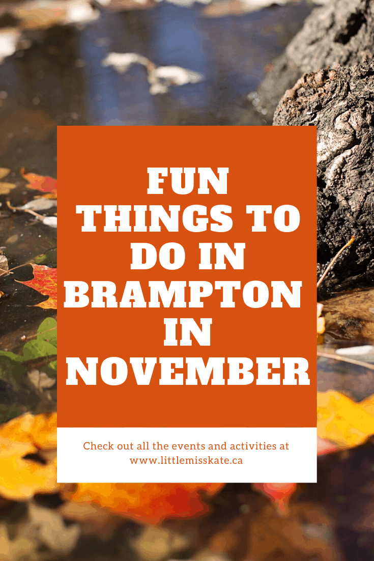 Fun Things to do in Brampton in November