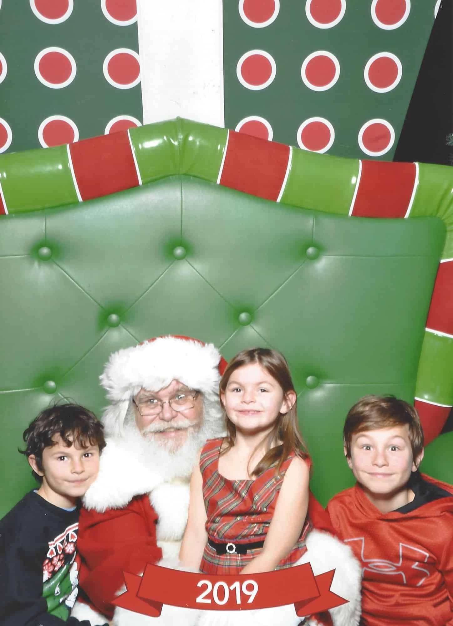 Shoppers World Brampton Santa Photo Set up