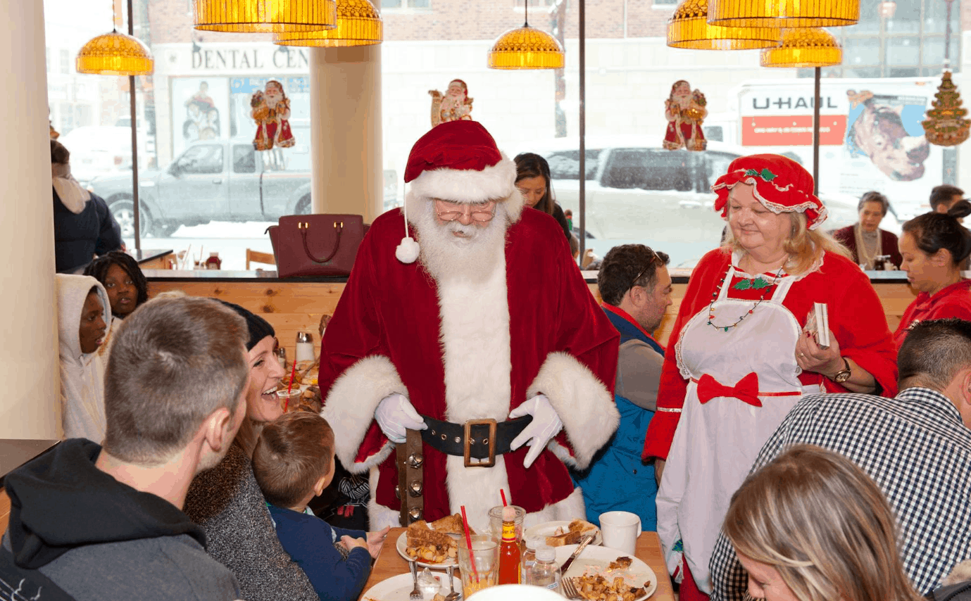 breakfast with santa brampton sunset grill