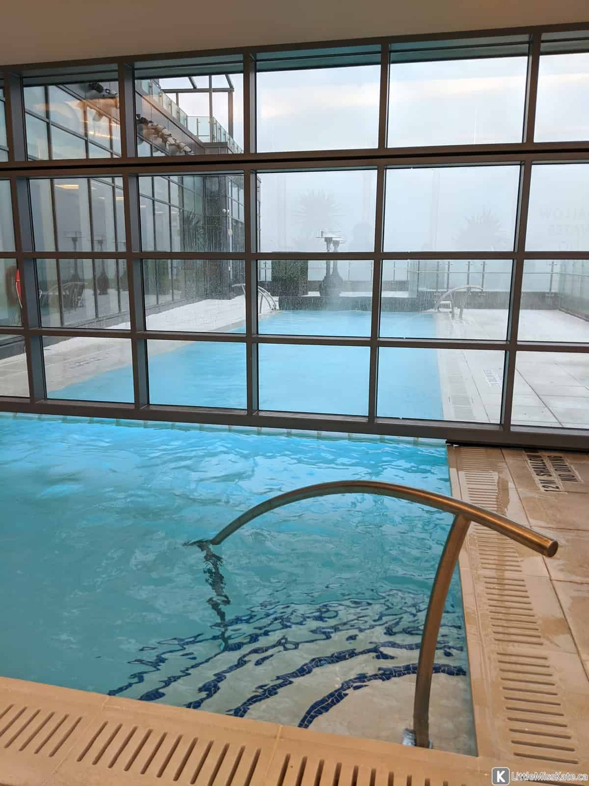 best rooftop pool toronto hotel x review