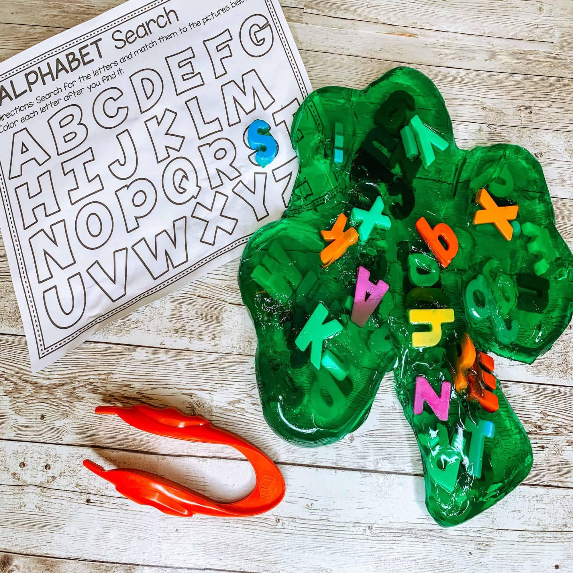St.Patrick's Day Preschool Learning