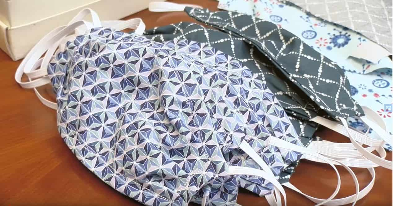 DIY Cloth facemask pattern
