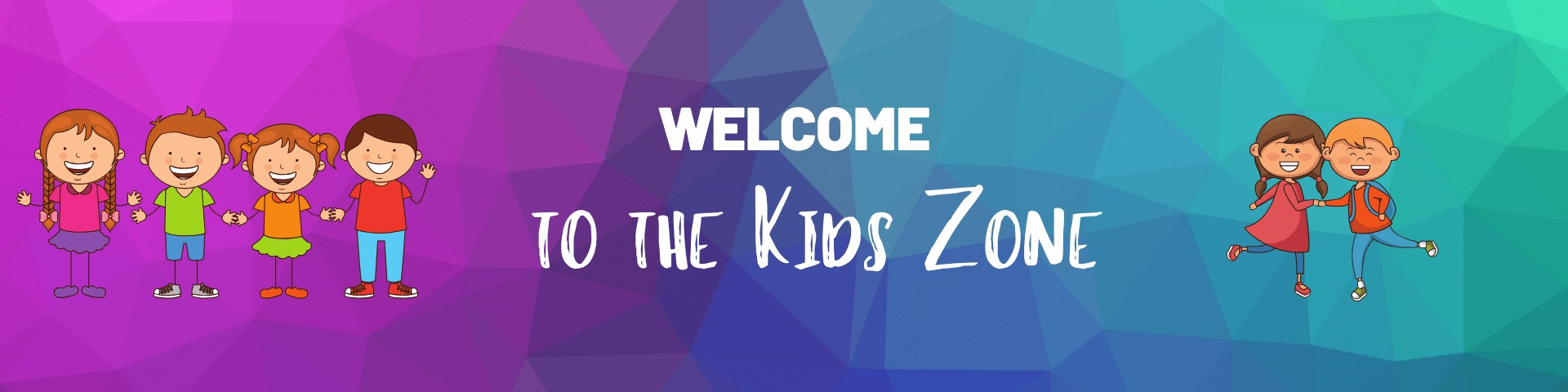 Kids Zone Sign