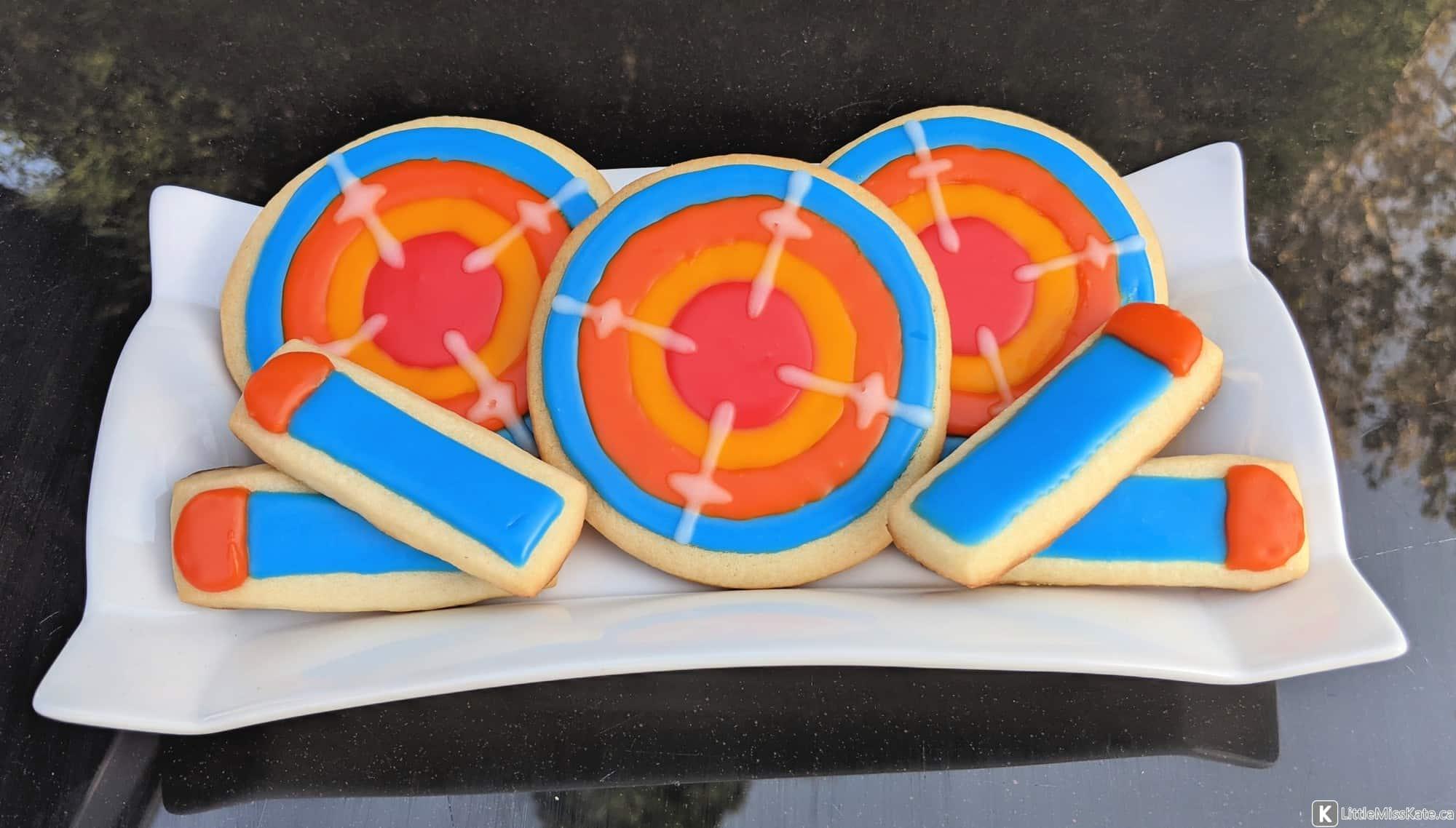 Easy Nerf Sugar Cookies Design Ideas