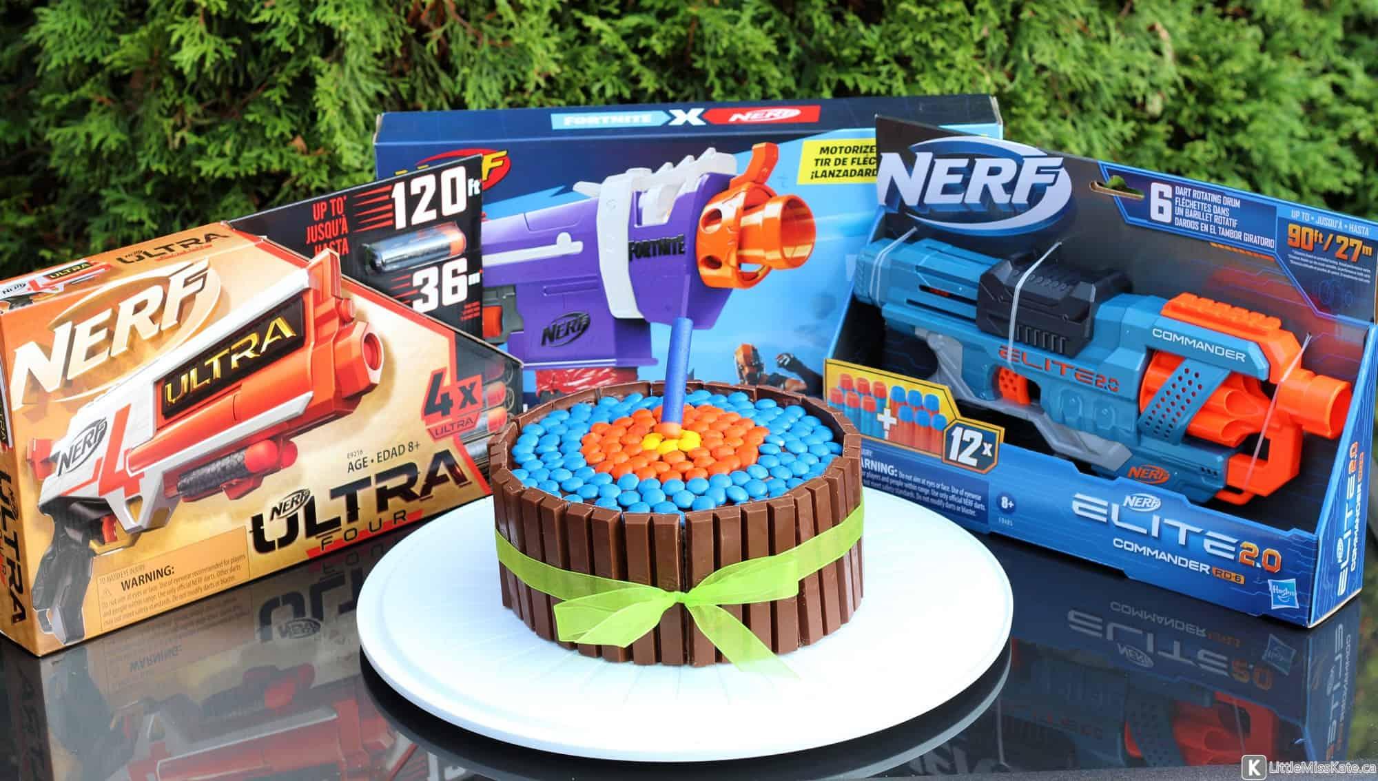 nerf cake nerf gun cake childrens cakes