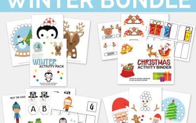 Winter Worksheets for Preschool